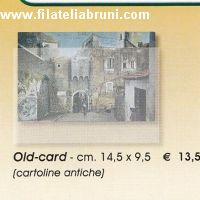 Old card cartoline antiche cm 14.50 x 9,50