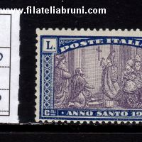 Anno Santo 1925 Holy year lire 1