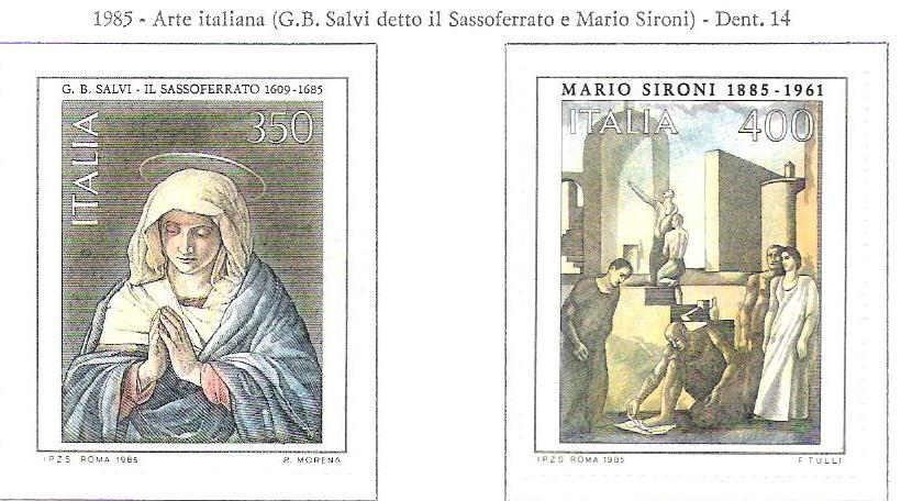 Arte Italiana Sassoferrato Sironi