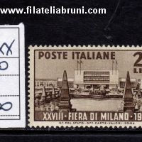 Fiera di Milano 1950 the 28th Milan trade fair