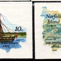 150 ammiversaire de la seconde colonisation de l'Ile de Norfolk