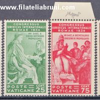 1935 Vaticano Vatikaanstaat congresso giuridico internationalen Juristenkongress