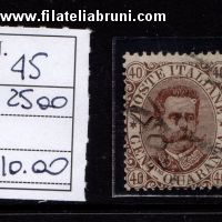 Effige Umberto I King Umbert I